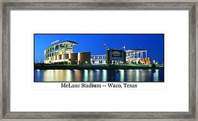 Mclane Stadium Print Framed Print by Stephen Stookey