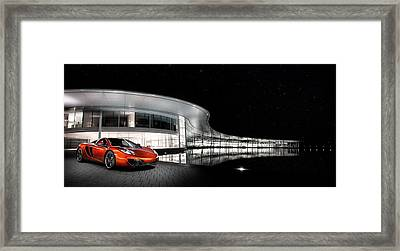 Mclaren 12c At The Mtc Framed Print