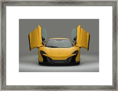 Mclaren 650s Framed Print by Drew Phillips