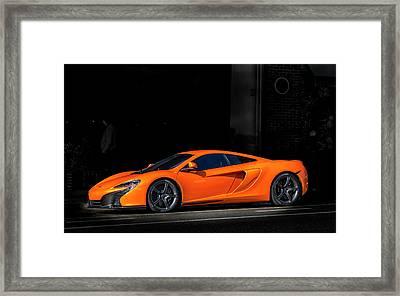 Mclaren 650 S  Framed Print