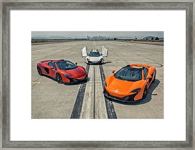 #mclaren #650s #party Framed Print