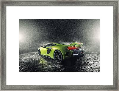 Mclaren 675lt Framed Print
