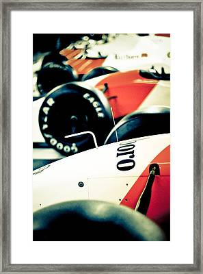 Mclaren Generations Framed Print by Adam Smith