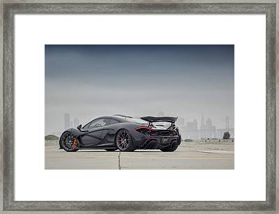 Framed Print featuring the photograph #mclaren Mso #p1 by ItzKirb Photography