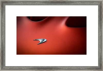 Framed Print featuring the digital art Mclaren P1 by Douglas Pittman