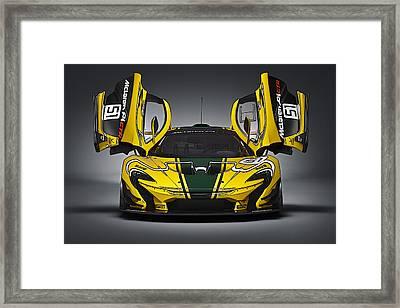 Mclaren P1 Gtr Framed Print