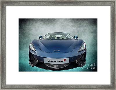 Mclaren Sports Car Framed Print by Adrian Evans