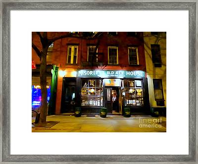 Mcsorleys At Night Framed Print