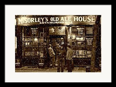 Pubs Framed Prints