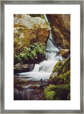 Mcway Creek Falls 1 Framed Print