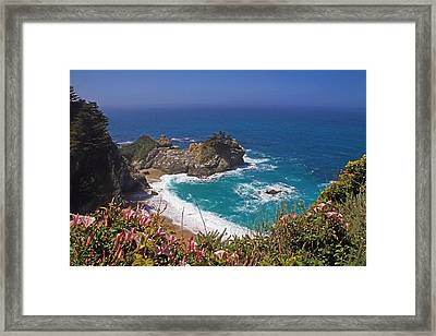 Mcway Falls  Framed Print by Donna Kennedy