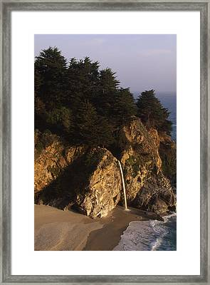Mcway Falls Framed Print by Soli Deo Gloria Wilderness And Wildlife Photography