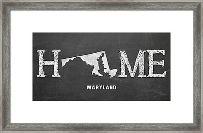 Md Home Framed Print by Nancy Ingersoll