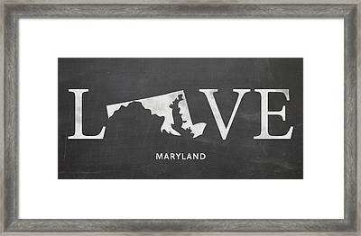 Md Love Framed Print by Nancy Ingersoll