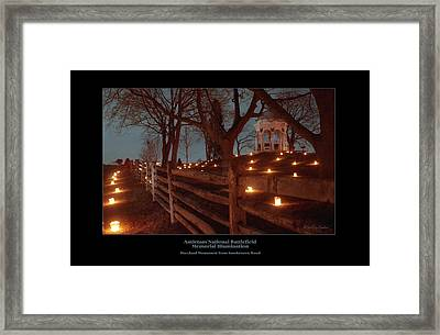 Md Monument From Smoketown Road 98 Framed Print by Judi Quelland