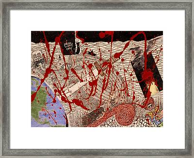 Me Against The World Framed Print by William Watson