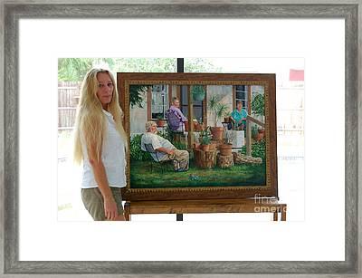 Me And Baron's Estate Framed Print