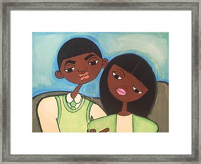 Me And My Boo Framed Print