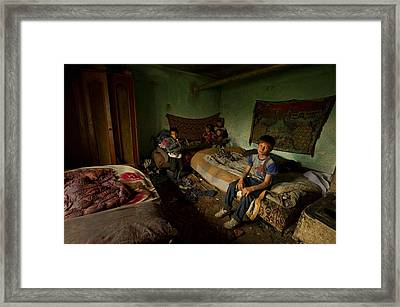 Me And My Brothers Framed Print by Mihnea Turcu
