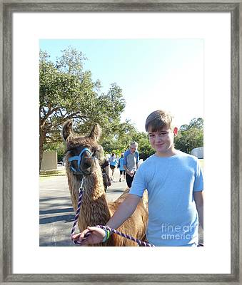 Me And My Friend 3 Framed Print