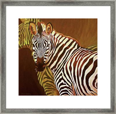 Me And My Friend Framed Print by Kelly McNeil