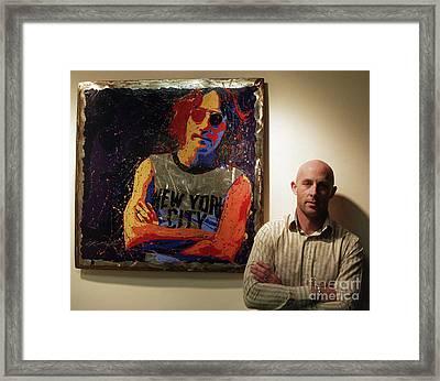 Me And My Mate John Framed Print