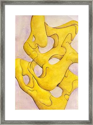 Me And Myself Framed Print by Versel Reid
