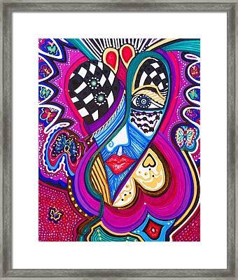 Me Looking For Love - Viii Framed Print