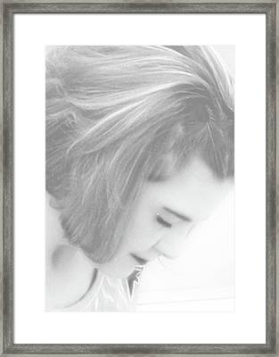 Me Framed Print by Molly McPherson