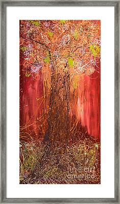 Me Tree Framed Print by Gallery Messina