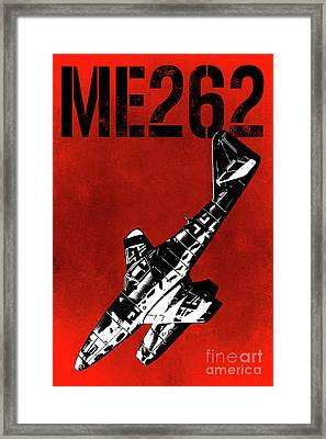 Me262 Framed Print by Mark Fearon