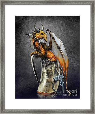 Mead Dragon Framed Print