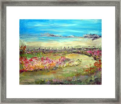 Meadow Bluffs Framed Print