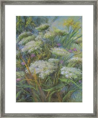 Meadow Bouquet Framed Print