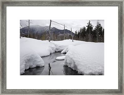 Meadow Brook - White Mountains New Hampshire  Framed Print by Erin Paul Donovan