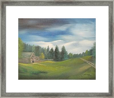 Meadow Dreams Framed Print