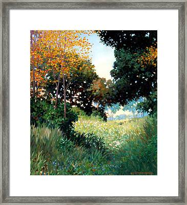 Meadow Framed Print by Kevin Lawrence Leveque