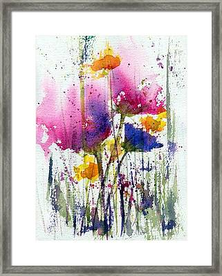 Meadow Medley Framed Print by Anne Duke