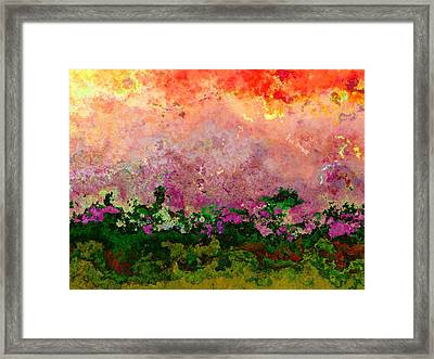 Meadow Morning Framed Print by Wendy J St Christopher