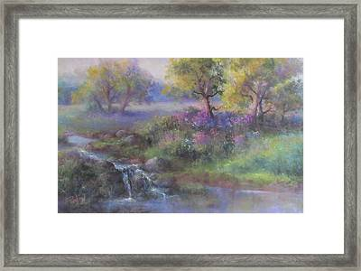 Meadow Spring Framed Print