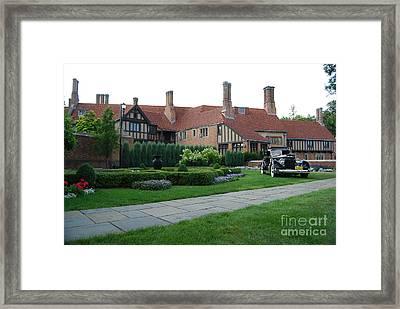 Meadowbrook Hall Framed Print