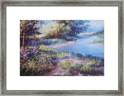 Meadowlight Framed Print