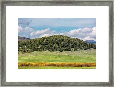 Meagher County Landscape Framed Print by Todd Klassy