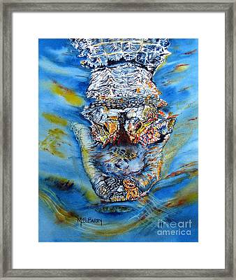 Mean Machine Framed Print by Maria Barry
