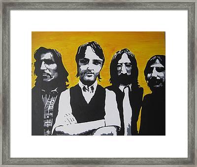 Mean Mr Mustard Framed Print by Rebecca Jankowitz