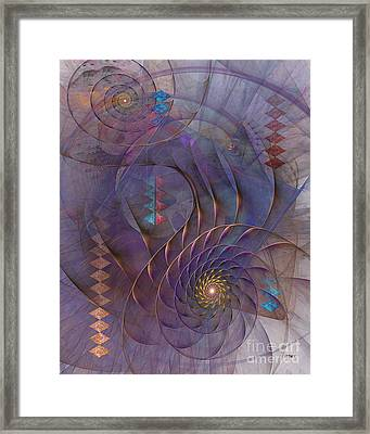 Meandering Acquiescence Framed Print by John Robert Beck