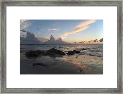 Meandering Light Framed Print