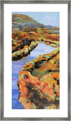 Meandering Shenandoah Framed Print by Anne Lewis