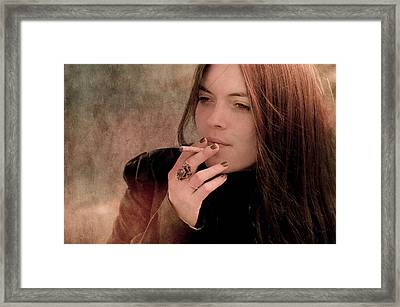 Meanderings Of A Thoughtful Mind Framed Print by Loriental Photography