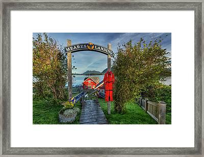Meares Landing Framed Print by Mark Kiver